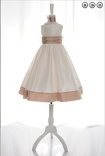 free shipping flower girl dresses for weddings 2013 ivory first communion dress little christmas pageant girls