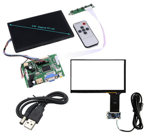 7 inch 1280*800 IPS LCD screen N070ICG-LD1 with touch panel screen HDMI+VGA+2AV Driver Board Tablet PC LCD