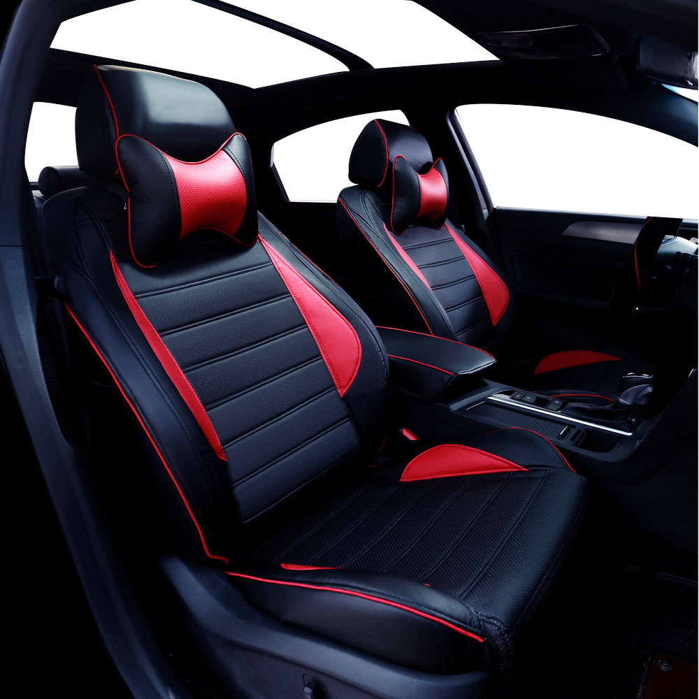 leather car seat cover for toyota rav4 prado highlander corolla camry prius reiz crown yaris. Black Bedroom Furniture Sets. Home Design Ideas