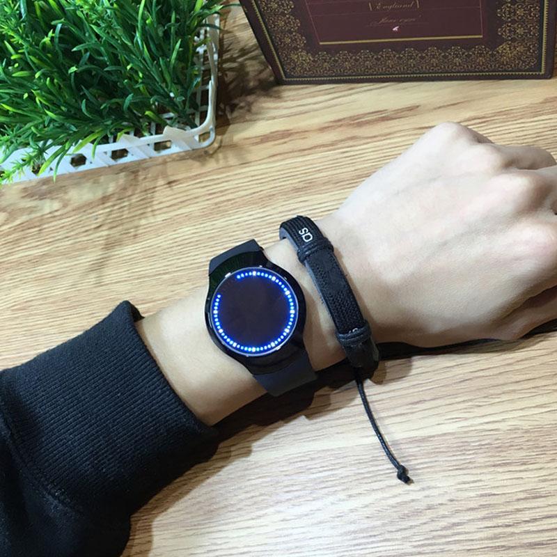 HTB1hafVRpXXXXXTaVXXq6xXFXXXc - Creative Minimalist Touch Screen Waterproof Watch
