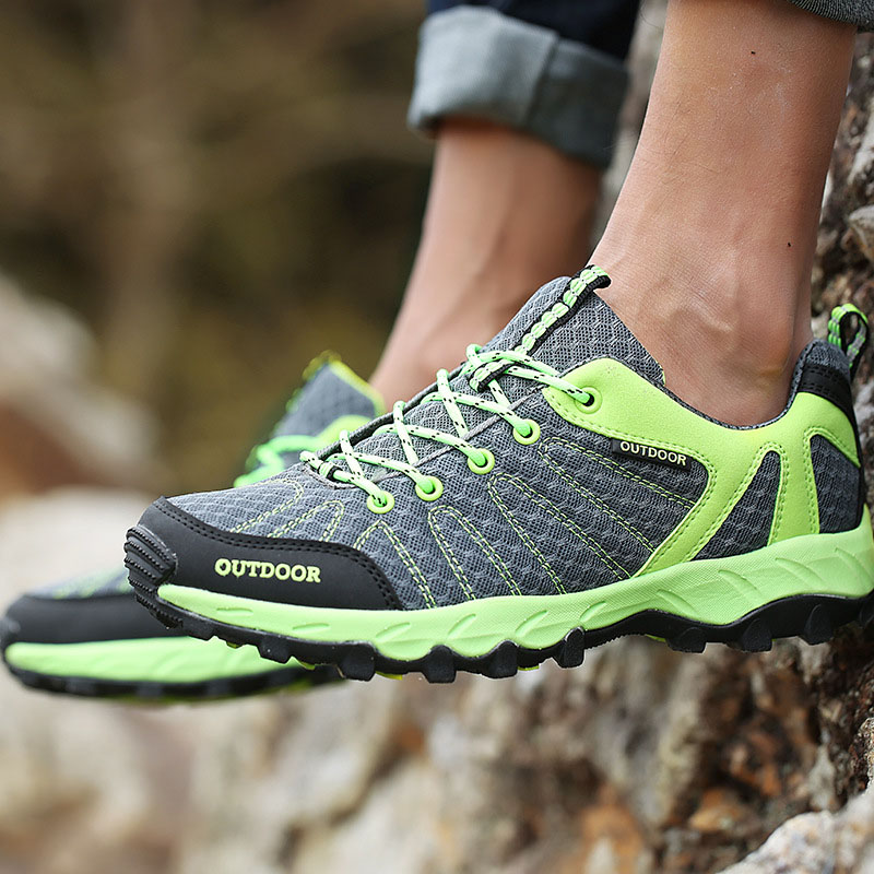 Hiking Shoes For Men Women Breathable Outdoor Sports Sneakers Camping Men Hiking Shoes Lovers Couples Walking Trekking Sneakers outdoor hiking shoes men women camping sneakers breathable outdoor sports sneakers walking trekking sneakers for couples lovers