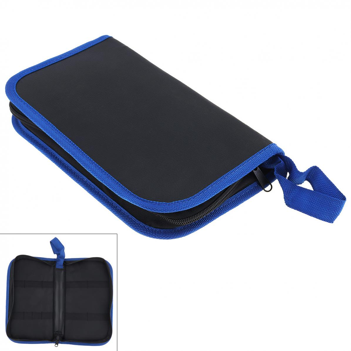 Tool Bags Portable Multifunction Tool Kit Bag With PU Leather Surface Material And Zipper For Maintenance Tool Storage