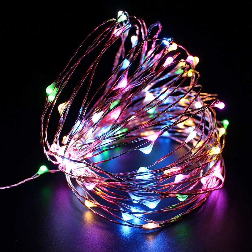 20 LED Submersible Wire String Light Battery Fairy Wedding Christmas decor