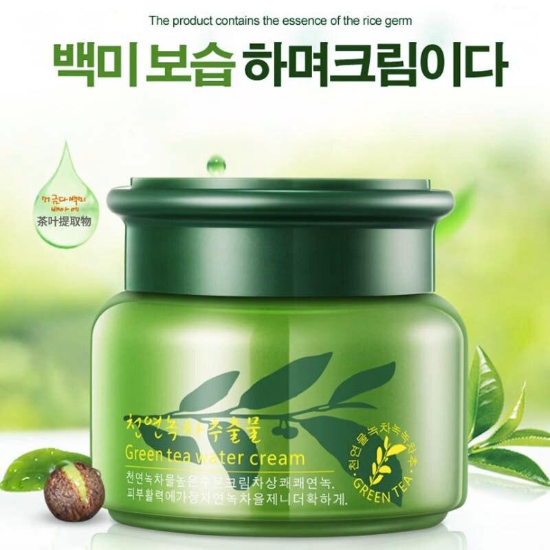 New Green Tea face cream moisturizer anti Wrinkle anti aging nourishing collagen