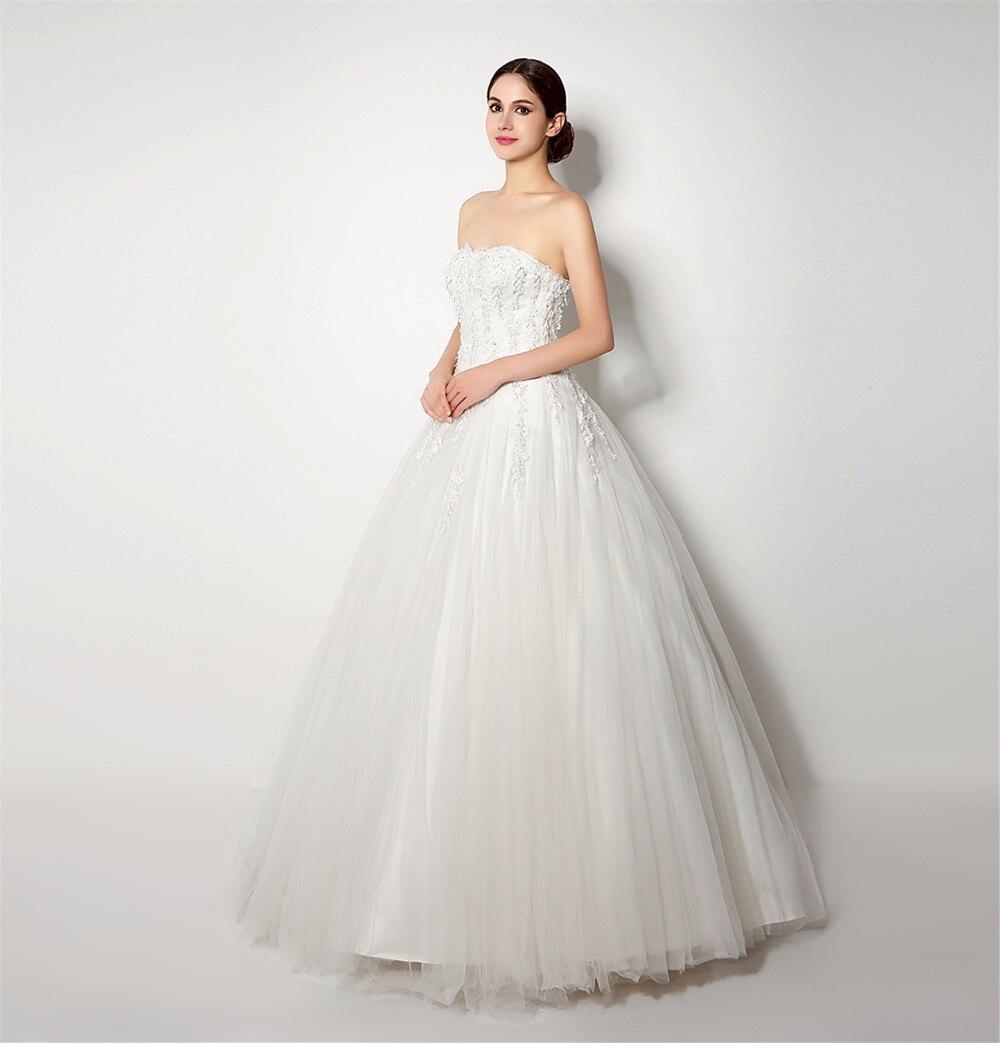 Elegant Ball Gown Wedding Dress Plus Size 2018 Amanda Novias ...