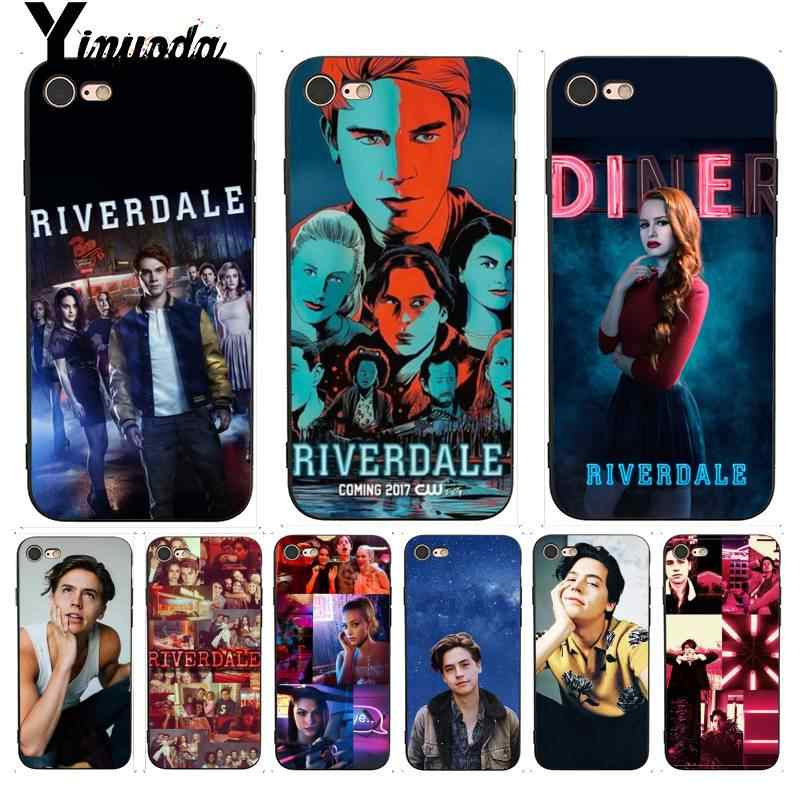 Yinuoda Archie Betty Jughead Jones Veronica Riverdale TV Topmost Phone Case for iPhone X  8 7 6 6S Plus X 5 5S SE XR XS XSMAX