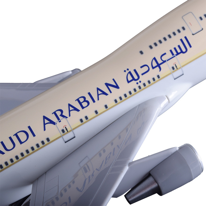 47 cm B747-400 Saudi Arabian Airways modelo de aviación de resina - Vehículos de juguete para niños - foto 4