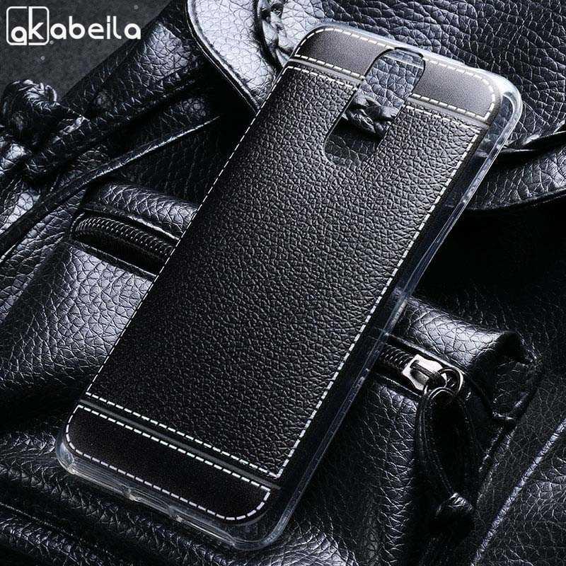 AKABEILA Lichee coques de téléphone pour Cubot housse d'alimentation en Silicone souple pleine étui de protection housse arrière Cubot puissance SmartPhone sac