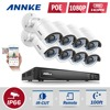 ANNKE HD 1080P 8CH PoE NVR IP Network Outdoor CCTV Home Security Camera System