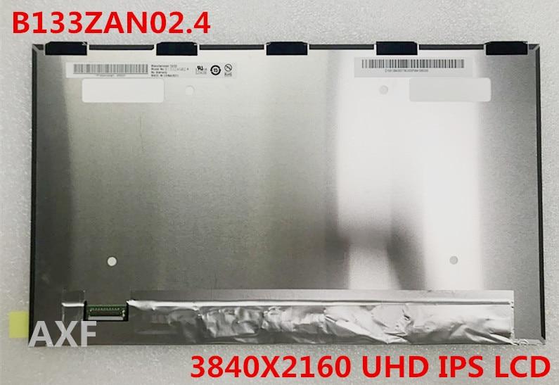 New 13.3 inch ultra - thin screen borderless B133ZAN02.4 B133ZAN01.0 high score 4k screen IPS 3840X2160 UHD цены онлайн