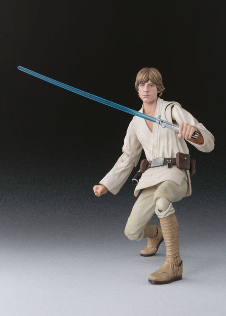 "BANDAI Tamashii Nations S.H.Figuarts (SHF) Action Figure – Luke Skywalker from ""Star Wars"""