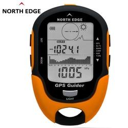 GPS navigation Tracker sport Digital watch Army Hours Running sports military Altimeter Barometer Compass Locator NORTH EDGE
