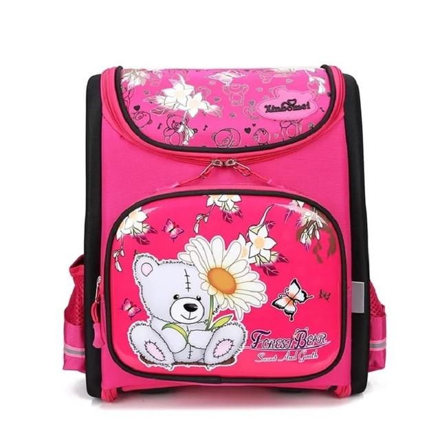 87fbde95af Cute Bear Backpack Children School Bags Orthopedic Waterproof Backpacks  Girls School Satchel Backpacks Foldable Kids Bolsas