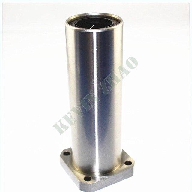 3d imprimante roulement 2 pcs LMK8LUU 8mm ronde bride linéaire roulement à billes douille pour 8mm linéaire rail de guidage tige ronde arbre cnc partie