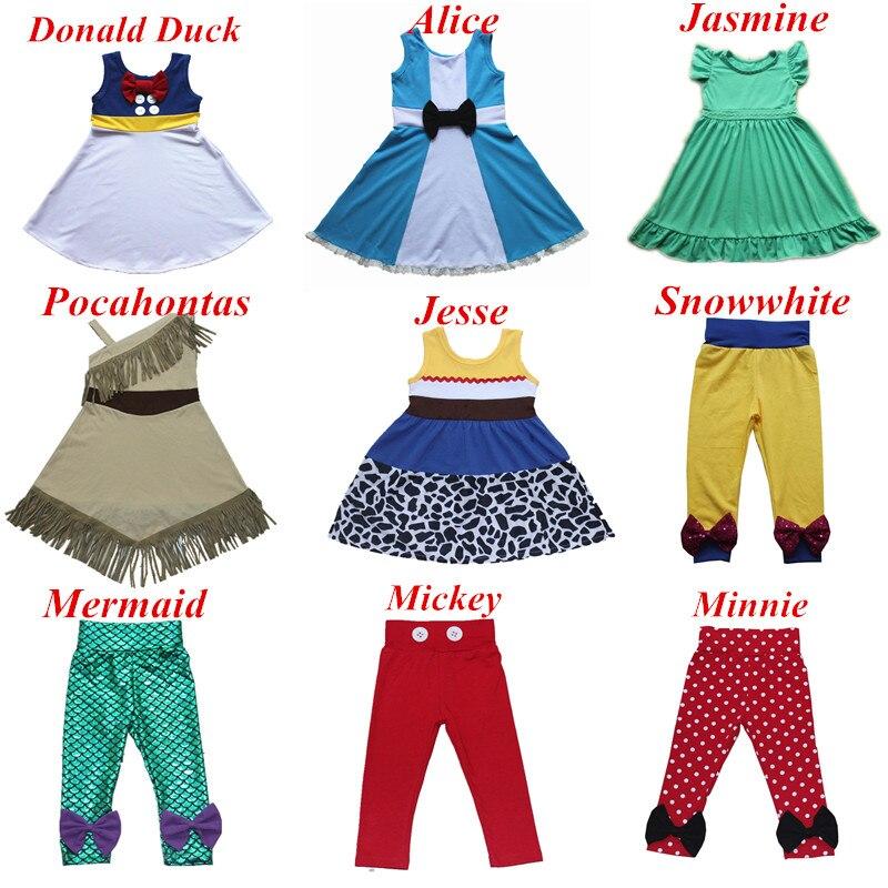 2018 Vestito Da Estate Giallo Biancaneve Principessa del Cotone Vestito Da Partito Con L'arco Mickey Fancy Mermaid Dress Costume Cosplay