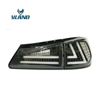 VLAND Factory For Car Lamp For Lexus IS300 LED Taillight 2006 2007 2010 2012 IS250 IS 350 Tail Light With Black Color