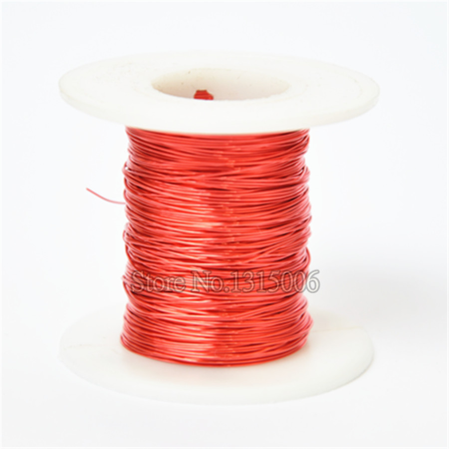 Red Magnet Wire ,Enameled Copper wire ,Magnetic Coil Winding ,0.2 mm ...
