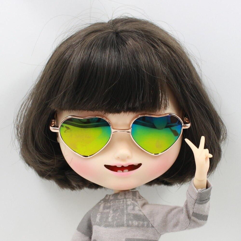 Neo Blythe Doll Heart Shaped Glasses 11