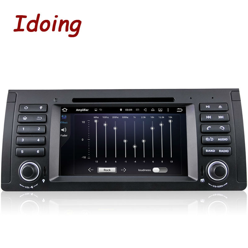 Idoing 1Din Steering Wheel For BMW E39 38 53 Car DVD Multimedia Video Player Android7 1
