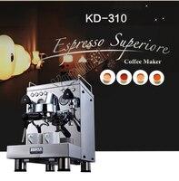 Профессиональный Кофе машина коммерческих Эспрессо, капучино Кофе Машина Полуавтоматическая эспрессо Кофе Maker KD 310