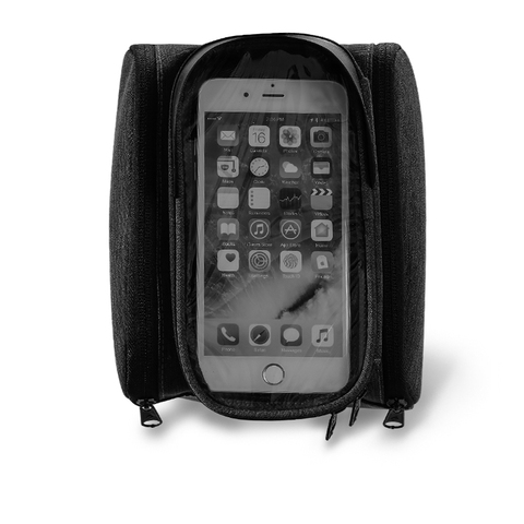 Sahoo 122007 Touch Screen Bike 6.5in Cell Mobile Phone Bag Front Frame Top Tube Cycling Pouch Double Side Bicycle Pannier Islamabad
