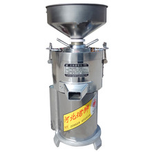 лучшая цена 220V Professional Electric 15kg/h Peanut Butter Sesame Paste Grinder Machine Multifunctional Commercial Using EU/AU/UK/US Plug