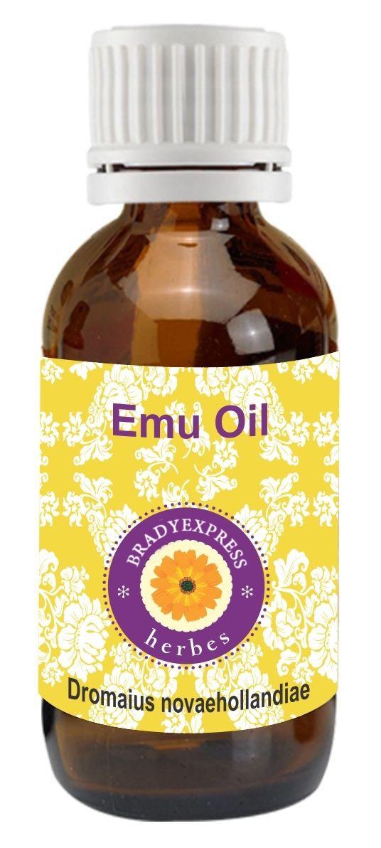 FRee Shipping Pure Emu Oil Dromaius Novaehollandiae 100% Natural Undliuted Therapeutic Grade  5ML