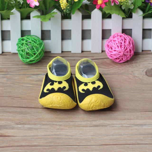 Calcetines de Niño de Fondo blando Con Suela De Goma Al Por Mayor Y Al Por Menor DEL Bebé Calcetines del Piso Antideslizante Infant Toddler Shoes Xp3008