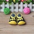 Meias Com Sola De Borracha Da Criança Fundo macio Atacado E Varejo DO Bebê Meias Chão Antiderrapante Sapatos Da Criança Infantis Xp3008