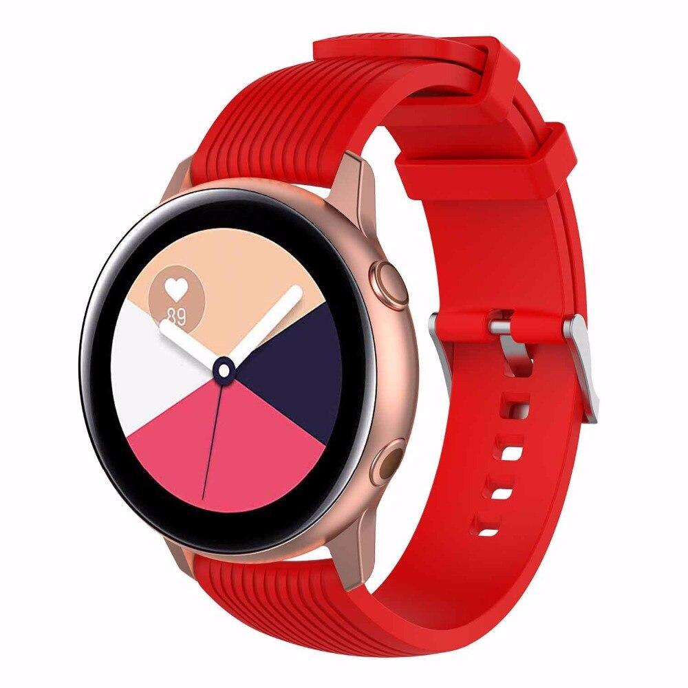 Image 5 - Силиконовые спортивные часы с ремешком для samsung Шестерни Sport/S2 классический huawei watch2/watch2 pro samsung galaxy watch active ремешок для часов-in Смарт-аксессуары from Бытовая электроника on AliExpress - 11.11_Double 11_Singles' Day