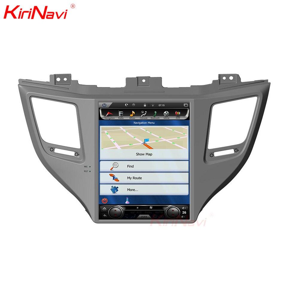 Lecteur Dvd de voiture de 10.4 pouces à écran Vertical KiriNavi pour Hyundai Tucson 2 Din Radio Gps multimédia Navigation Android