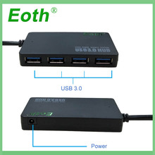 USB3.0 hub splitter External 4 Port USB 3.0 hub adapter 5Gbps High Speed USB Hub for Laptop multi usb Adapter Laptop Accessories