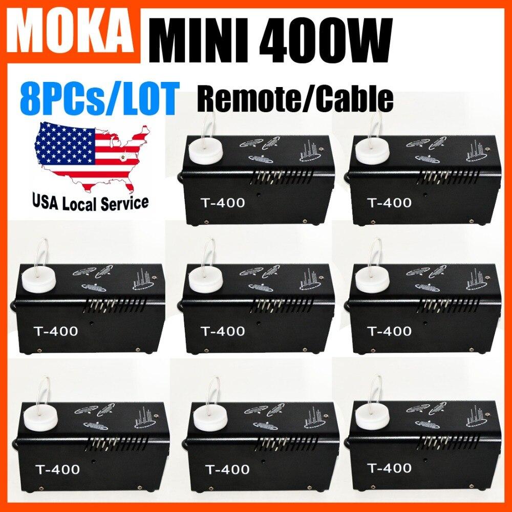 8pcs/lot mini dj smoke generator machines wireless fog machine for dj light все цены