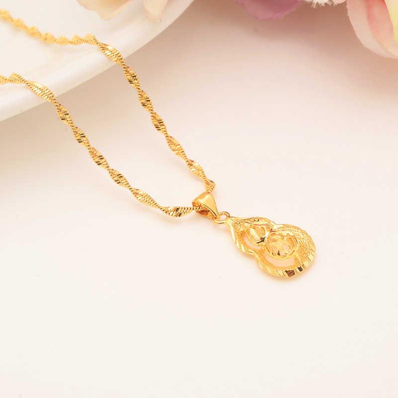 BangruiEthiopian Monili delle donne set Gold filled Ciondolo Collane/Orecchini Nuziale Africano Habesha Etiopia Da Sposa ragazza Regalo