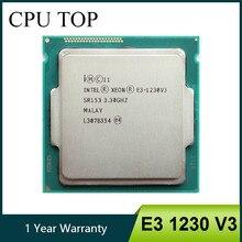Intel xeon e3 1230 v3 3.3ghz quad-core, processador cpu lga1150 de desktop