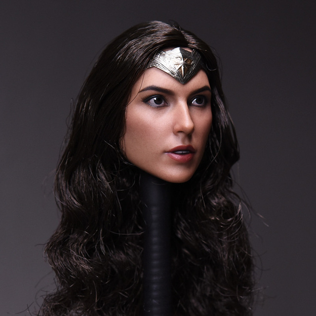 1/6 Gal Gadot Customized Head for 12 in. Figure
