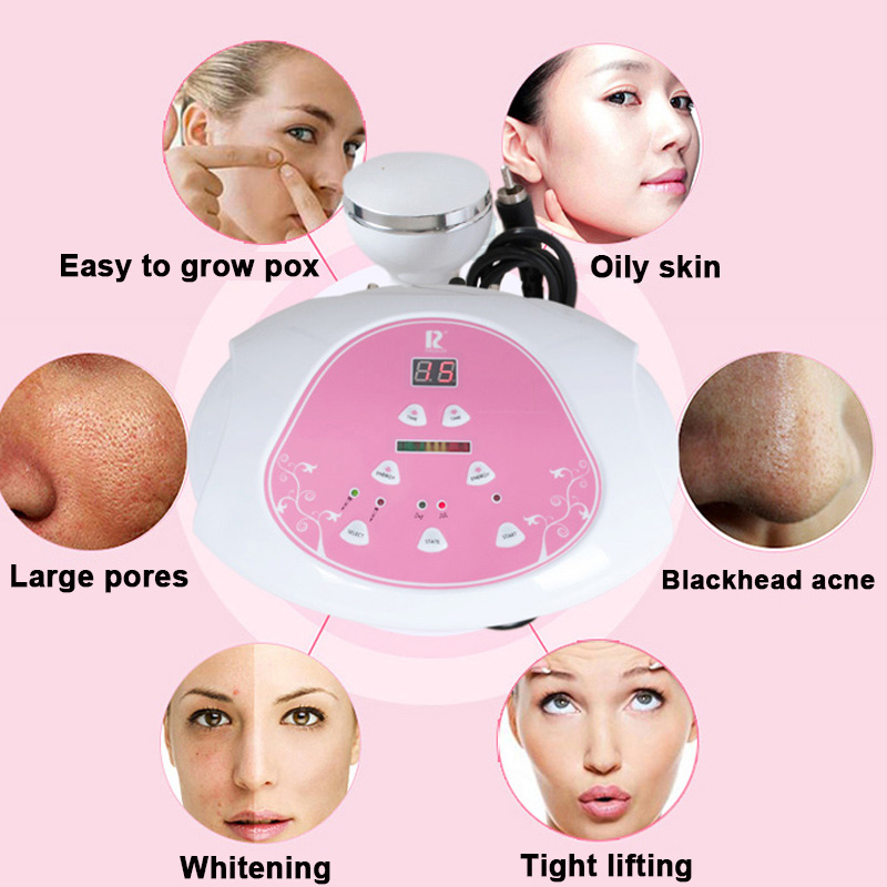Ultrasound EMS Stimulate Body facial Massager profession skin care Weight Loss Acupuncture Therapy Machine massager for face in Massage Relaxation from Beauty Health