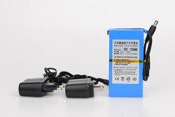 MasterFire DC 12V 6800mAH batterie Lithium-ion Rechargeable charge batterie externe pour GPS voiture caméra caméscopes DC 12680
