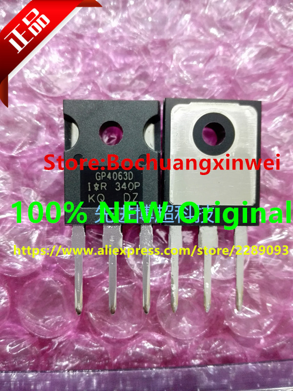2pcs//lot IRGP4063D IRGP4063DPBF GP4063D IRGP4063 IGBT 600V 96A 330W TO-247 IC
