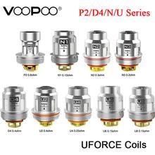 5 10 sztuk oryginalny VOOPOO UFORCE wymiana cewki P2 D4 N1 N2 N3 U2 U4 U6 U8 na VOOPOO przeciągnij 2 zestaw przeciągnij Mini zestaw tanie tanio VOOPOO UFORCE Replacement Coils VOOPOO Drag 2 Kit Drag Mini Kit DS Dual 40-80W best 55-65W 50-120W best 60-80W 70-130W best 90-110W