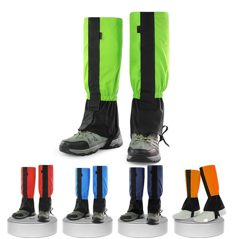 Prix pour 1 Paire Adulte Enfants Respirant En Plein Air Escalade Neige Legging Gaiters Étanche