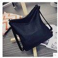 2016 winter Women's shoulder Bags back packs ladies Messenger bag fashion handbag Back bag black leather designer school bag