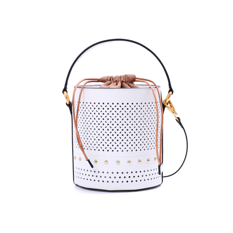 Luxury Designer Women Handbag Genuine Leather Bucket Bag Fashion Branded Lady Shoulder Bag 2018 safebet brand genuine leather fashion high quality bucket bag solid designer women luxury shoulder bag waterproof handbag