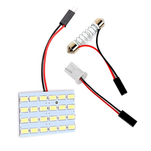 ITimo Universal T10 Reading Lights Super Bright Car Interior Lights Car Dome Lights 5730 24smd High Quality DC 12V Car-styling
