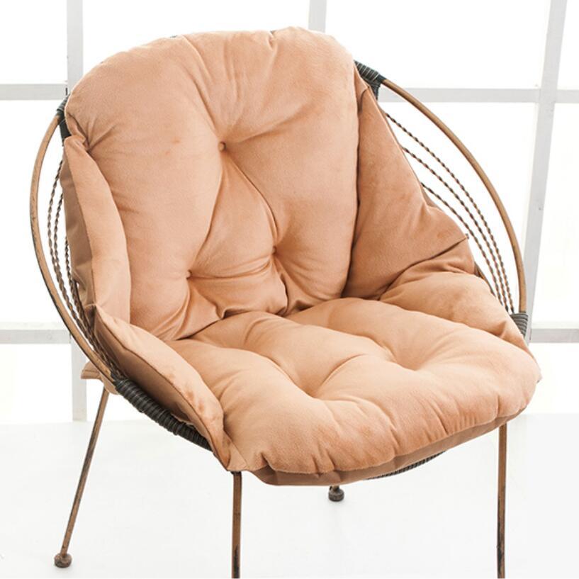 Coussins de chaise en forme de canapé, coussins de chaise à bascule, oreiller de tapis de chaises de bureau, canapé de Cojines épaissir, coussins de sol pour enfants, chaise Kussens