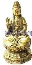 Bronze Statue Copper Bodhisattva Buddha Decoration Furniture
