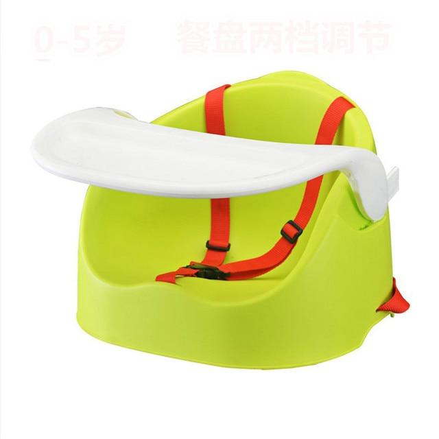 Многофункциональный детский обеденный стул ребенка портативный регулируемый обеденный стул ребенка кормление сиденья food level materials.