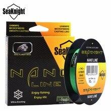 SeaKnight NANO 300M 4 Strands Braided Fishing Lines Multifilament PE Fine Fishing Line 4LB 6LB 8LB 10LB  Diameter 0.07-0.12mm