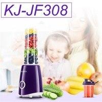 Mini Portable Electric Juicer Multifunctional Household Fruit Juice Machine Blender Smoothie Milkshake Maker KJ JF308