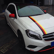 PVC national flag decorate Bug Shields car hood air intake engine cover vent decoration wide 15CM free shipping